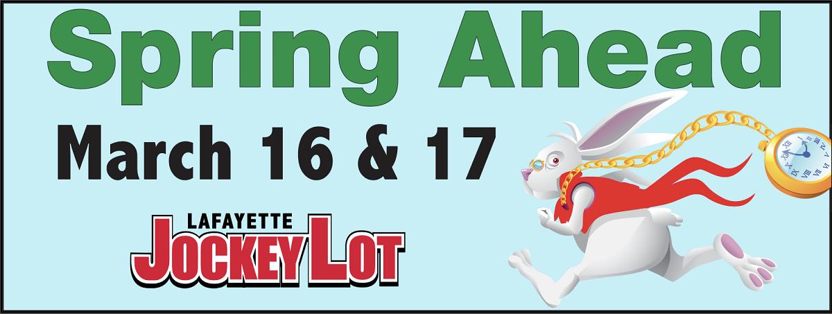 2019 Spring Ahead at Jockey Lot March 16 & 17