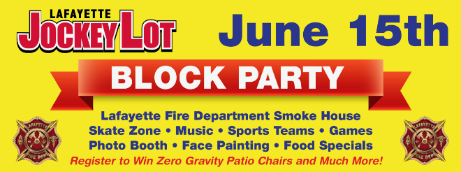 Jockey Lot June 2019 Block Party